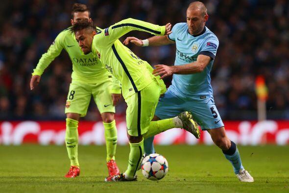 Manchester City tardó en encontrarse en el terreno de juego, pues en tod...