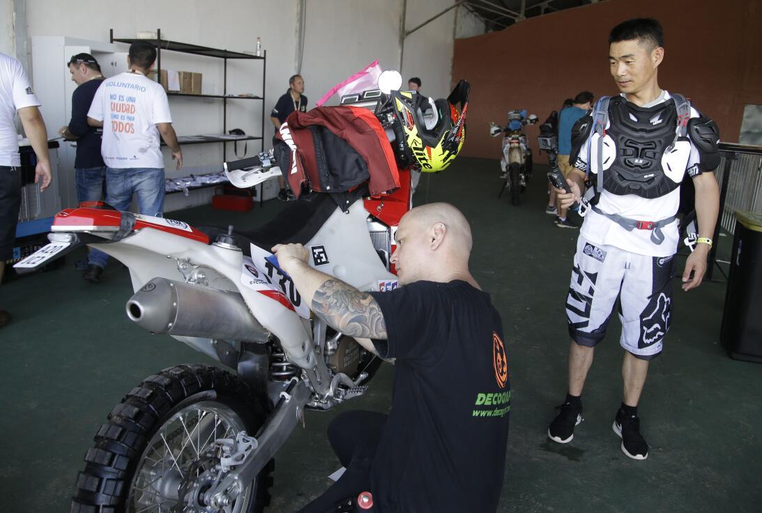 Así fue el comienzo del Rally Dakar en Paraguay AP_16366614213498.jpg