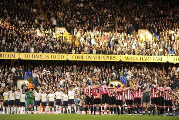 El Tottenham recibió en su campo al Sunderland.
