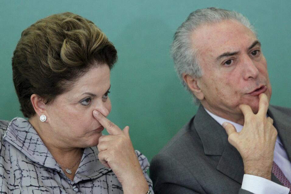 Dilma y Michel