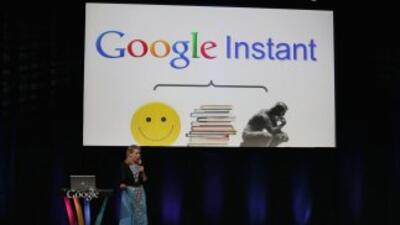 Google presenta búsquedas instantáneas