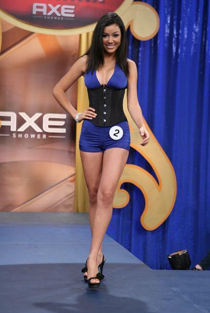La belleza mexicana fue representada por María Elena Anaya.