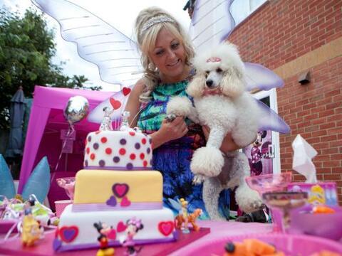 El tema de Disney fue utilizado para celebrar el cumpleaños de Ve...