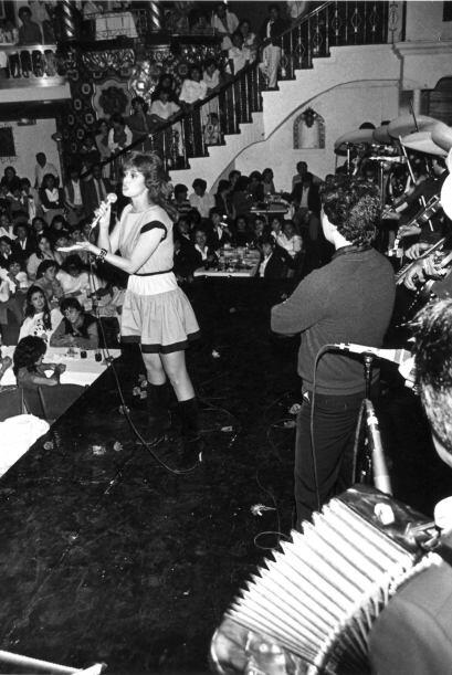 ¿Qué tal se veía en 1985 cantando?