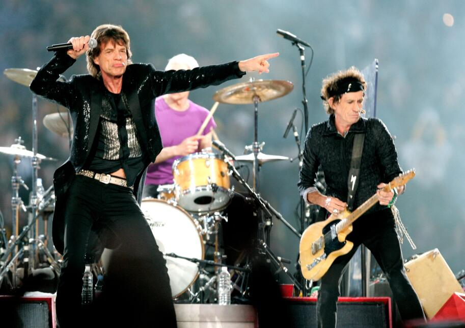 The Rolling stone Super Bowl 2006
