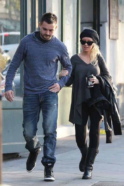 Christina Aguilera fue otra chica que muy a su estilo lució cómoda y bie...