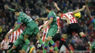 Athletic de Bilbao logró una gran remontada ante Levante.