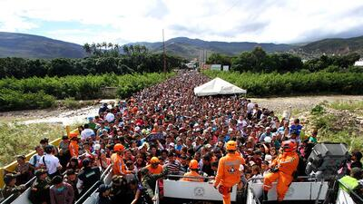 Human rights groups says Venezuela exodus needs regional approach to protect migrants