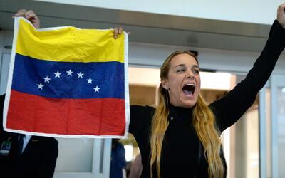 """Tintori tras su regreso a Venezuela: """"Desde que nos bajamos del avión la..."""