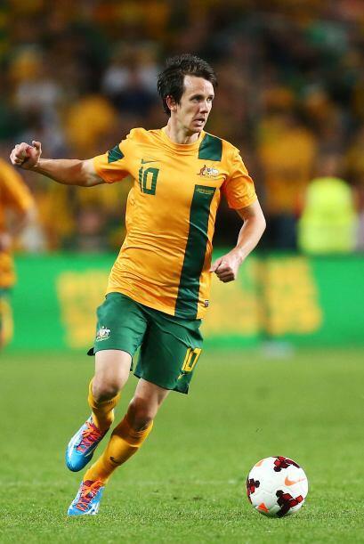 Más que atacante, Robbie Kruse es uno de los generadores de juego de Aus...