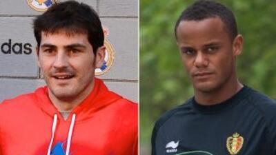 Las rumores de los medios británicos sugieren que Casillas y Kompany int...