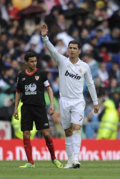 Y Cristiano alcanzaba las 43 anotaciones en el torneo, el récord sigue c...