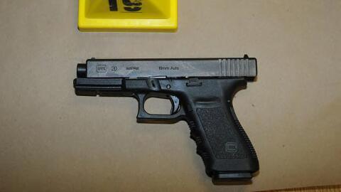 Esta pistola fue usada en la masacre de Sandy Hook, donde 20 niños murie...