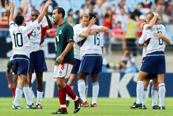 """La eliminación en Octavos de Final del Mundial en el 2002, los cuatro """"d..."""