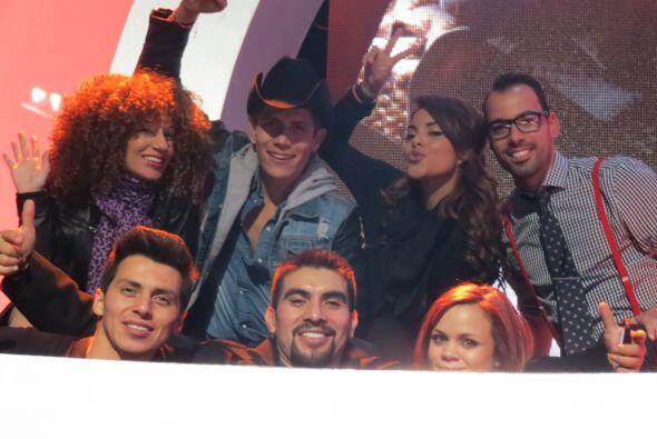 A su derecha, el #TeamDasa nos manda su mejor saludo: Mario Pacheco, Joy...
