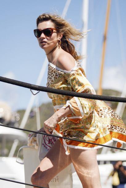 Kate Moss es una mujer que también disfruta de la moda y lleva lo último...