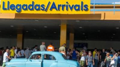 El aeropuerto de La Habana.