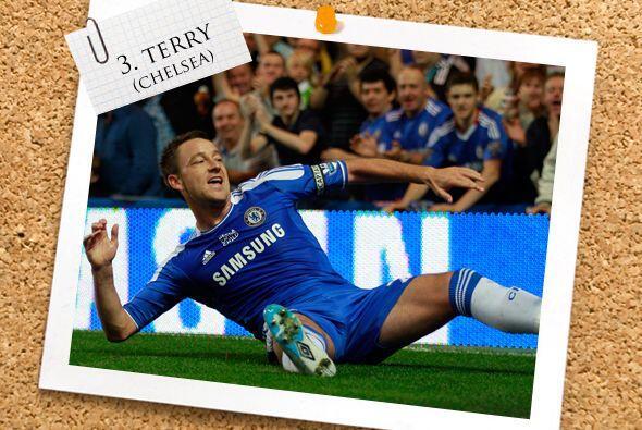 Un emblema de la defensa es el inglés John Terry.