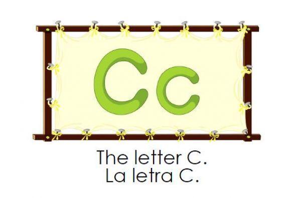Te traemos este libro bilingüe para aprender la letra C y practicar los...
