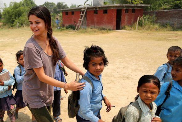 Pero en los niños de Nepal encontró la esperanza del mundo y el optimism...