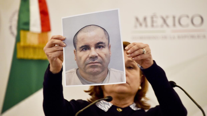 Joaquín Guzmán Loera, alias El Chapo Guzmán.