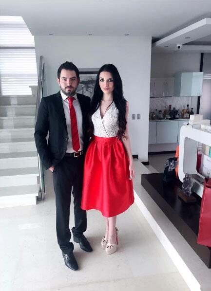 Bárbara Escalante y José Eduardo Derbez