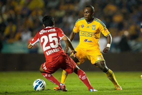 Joffre Guerrón, el ecuatoriano tiene poco de haber llegado a la liga mex...