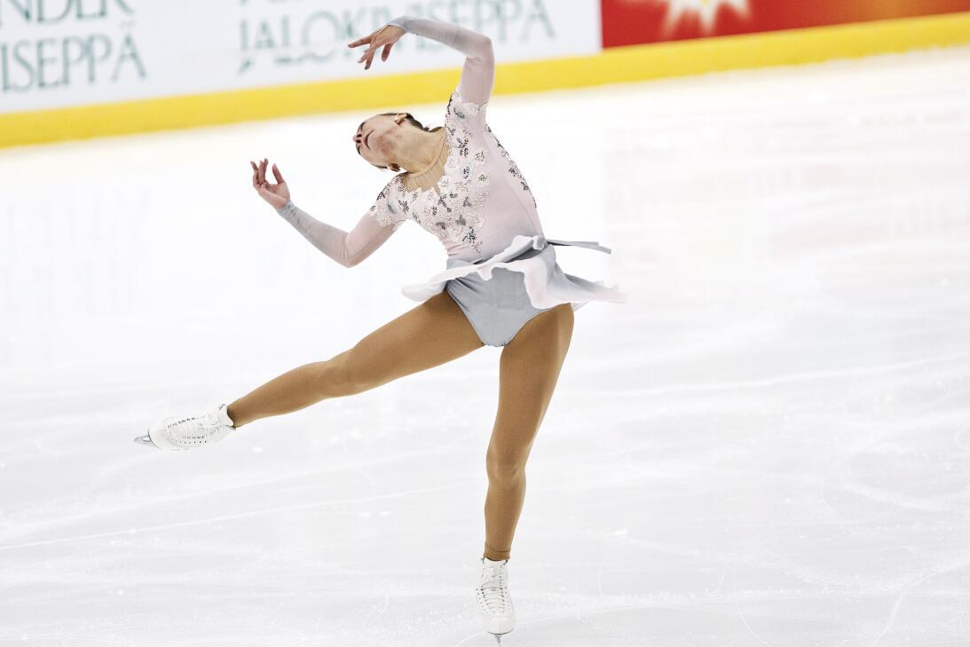 Belleza y capacidad en el patinaje artístico sobre hielo en Finlandia 9d...