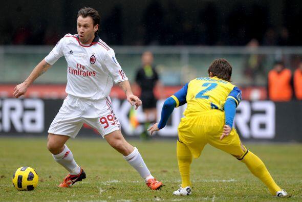 Los 'rossoneri' visitaron al Chievo Verona, teniendo la etiqueta de favo...