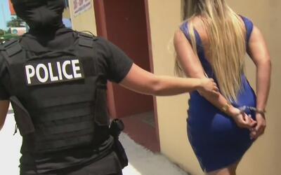Así son los operativos de la policía de Miami-Dade en lugares de prostit...