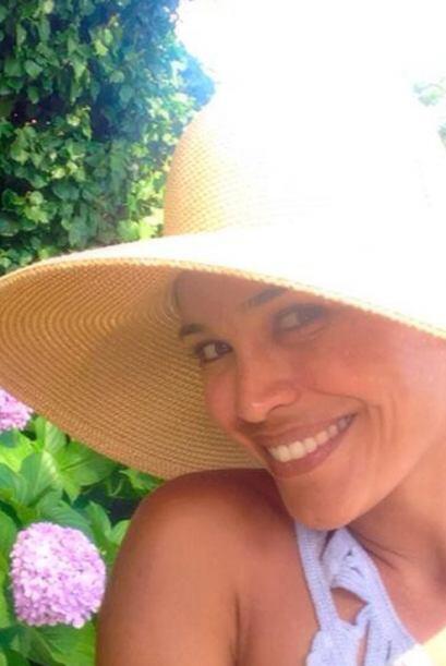 Karla enamorada de los jardines de Ravello.