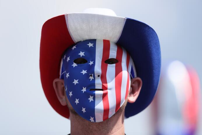 El público norteamericano se dio cita para apoyar a su selección. Maquil...