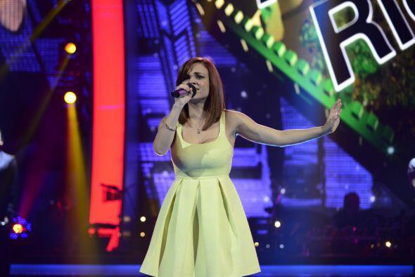 """Ana Cristina Pagán puso emocional a Galilea con su """"Amor eterno""""."""