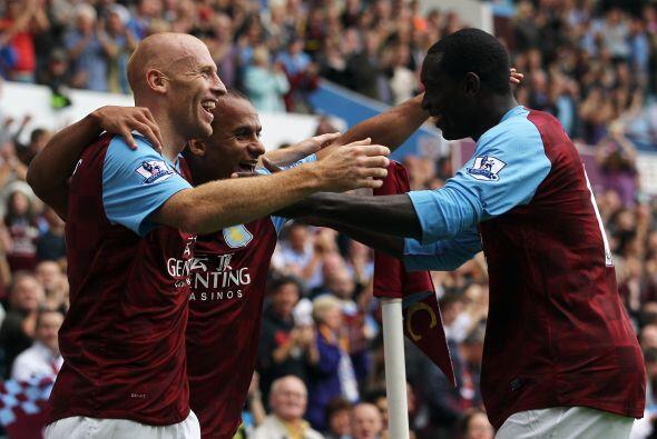 El resultado final fue Aston Villa 3 - Blackburn Rovers 1.