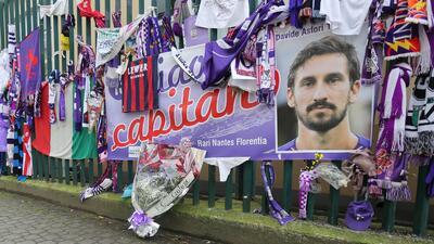 Investigan a un par de médicos por posible homicidio involuntario de Davide Astori
