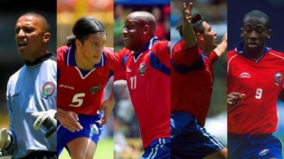 Ellos fueron los héroes de Costa Rica en el 'Aztecazo' rumbo a Corea y Japón 2002
