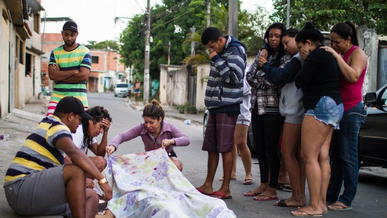 En la Baixada Fluminense se concentran el 46% de los homicidios de Río d...