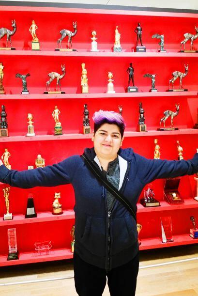 Steph dice que yo me quede con las películas y que ella los premios jaja