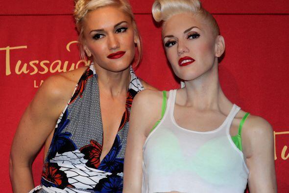 Lo mismo sucedió con la de Gwen Stefani.