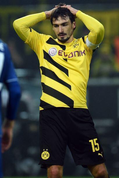 Hummels ha sufrido este último semestre con el Borussia Dortmund y sigue...