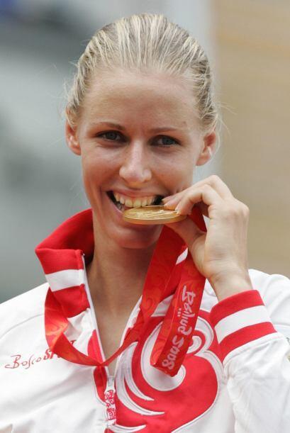 La rusa es un gran orgullo para su país. Ganó la medalla d...