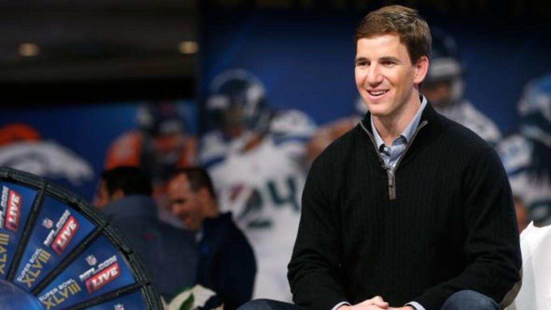 Eli Manning no tuvo una buena temporada en el 2013 (AP-NFL).