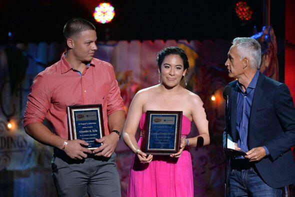 Este año, fueron dos jóvenes los afortunados ganadores.