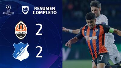 Shakhtar 2-2 Hoffenheim – GOLES Y RESUMEN - UEFA Champions League
