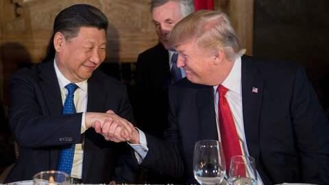 La crisis de Siria dejó en segundo plano la cumbre entre Xi y Trump.