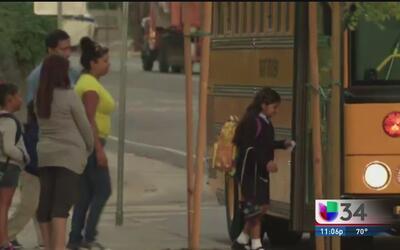 Advertencias de seguridad para el regreso a clases en Los Ángeles