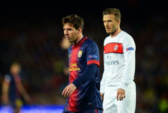 Con los cambios de ambos clubes, incluso David Beckham ingresó al campo.