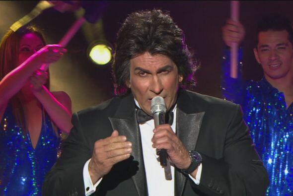 El Puma fue su contrincante, interpretado por Alexander Báez.