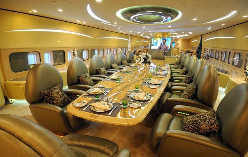 Está claro que no se trata de un A380 común como los de las aerolíneas c...