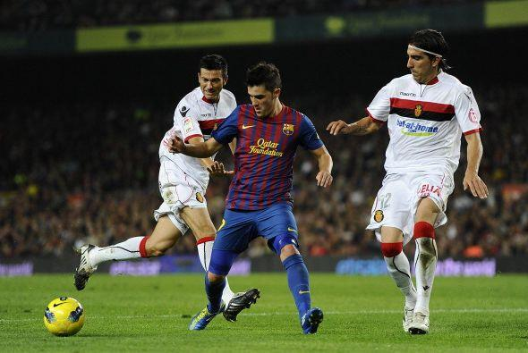David 'El Guaje' Villa fue titular pero no pudo encontrarse con su amigo...